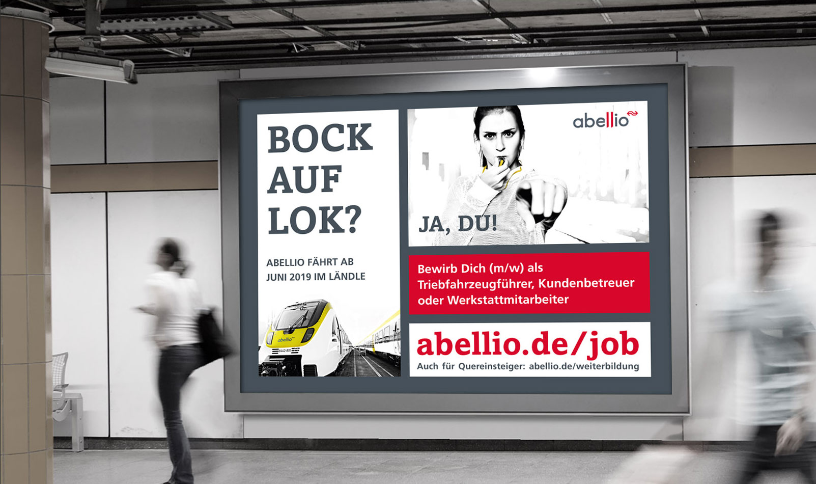 Abellio Bock auf Lok