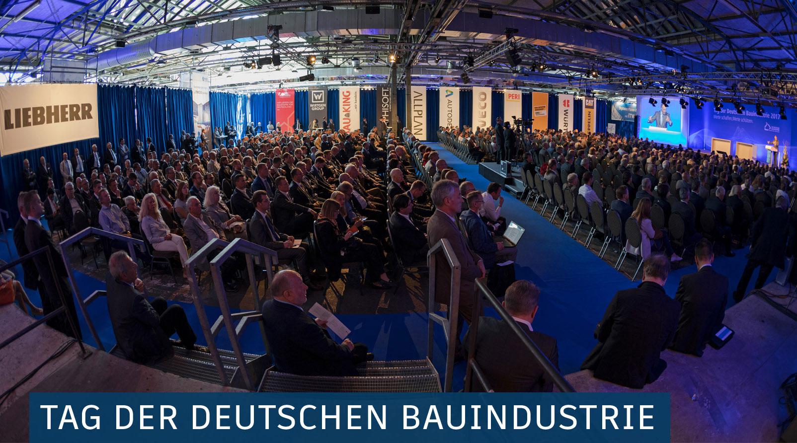 Tag der deutschen Bauindustrie